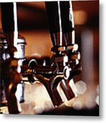 Beer Taps Metal Print