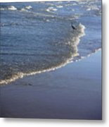 Being One With The Gulf - At Peace Metal Print