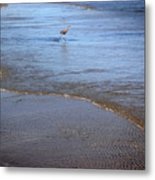 Being One With The Gulf - Playing Metal Print