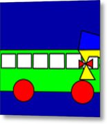 Belinda The Bus Metal Print