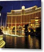 Bellagio Hotel In Las Vegas Metal Print