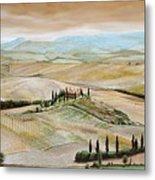 Belvedere - Tuscany Metal Print