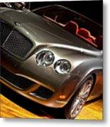 Bentley Continental Gt Metal Print