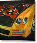 Bentley W66gts Metal Print