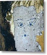 Berlin Wall Mural Metal Print
