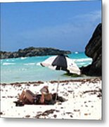 Bermuda On The Beach Metal Print