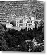 Bethlehem - Artas Convent Year 1900 To 1925 Metal Print