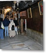 Bethlehem - Grotto Of Nativity 2009 Metal Print