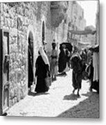 Bethlehem - Hard Working Woman Metal Print