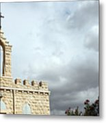Bethlehem - Milk Grotto Cross Metal Print