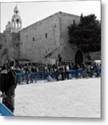 Bethlehem - Nativity Square Metal Print
