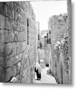 Bethlehem - Old Woman Walking 1933 Metal Print