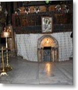 Bethlehem - Woman During Pray Metal Print