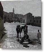 Bethlehem Street Scene 1911 Metal Print