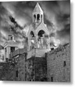 Bethlehem With Cloudy Sky Metal Print
