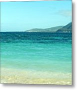 Between Nevis And St Kitts Metal Print