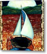 Beyond These Shores Metal Print
