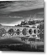 Beziers Cathedral Metal Print by Photograph by Paul Atkinson