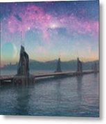Bifrost Bridge Metal Print