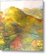 Big Hill Vista Metal Print