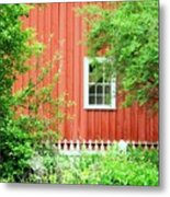 Big Red Barn Metal Print