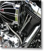 Big Ride Metal Print