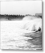 Big Surf At Santa Monica Metal Print