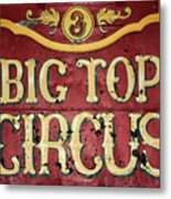Big Top Circus Metal Print