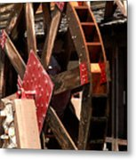 Big Wheels Keep On Turning Metal Print
