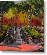 Bike Park Metal Print