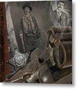 Billy And Pat Metal Print by Robert Hudnall
