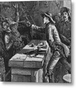 Billy The Kid 1859-81, Shooting Metal Print