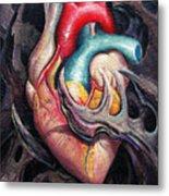 Bio Heart Metal Print by Matt Truiano