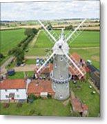 Bircham Windmill Metal Print