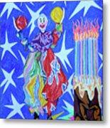 Birthday Clown Metal Print by Robert SORENSEN