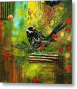 Black Bird Come Home Metal Print