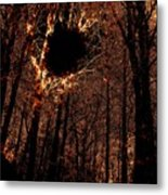 Black Hole Sun Metal Print