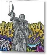 Black Mamba Metal Print by Steve Weber