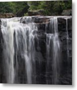 Black Water Falls Wv Metal Print