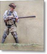 Blackpowder Woodsman Version Two Metal Print