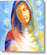 Blessed Mother Metal Print