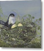 Blessed Nest Metal Print