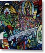 Blessing Of El Pescadero Mural Metal Print
