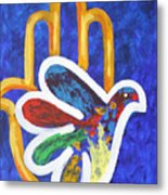 Blessings Of Peace Metal Print by Mordecai Colodner