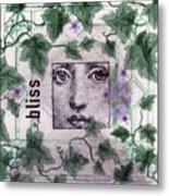 Bliss On Tile Metal Print