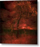 Bloody Tree Metal Print