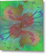 Blooms In The Mist Metal Print