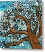 Blossom Tree - Miniature Art Metal Print