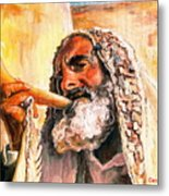 Blow The Trumpet In Zion Metal Print