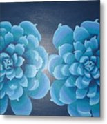 Blue Autum Metal Print